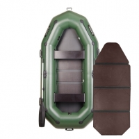 Надувная лодка Bark B-280P книжка (трехместная)