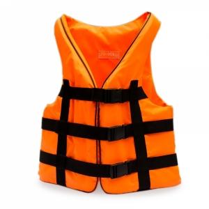 Жилет страховочный оранжевый 110-130