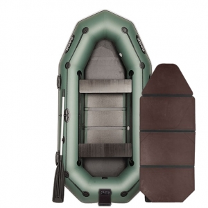 Надувная лодка Bark B-280NPD книжка (трехместная)