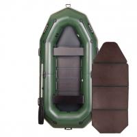Надувная лодка Bark B-300P книжка (трехместная)