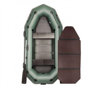 Надувная лодка Bark B-280PD книжка (трехместная)
